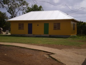 P2B also built this classroom at the school this summer