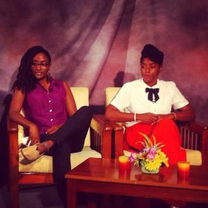 Malaika & Melissa talking about Maroon Retreats on Chit Chat.