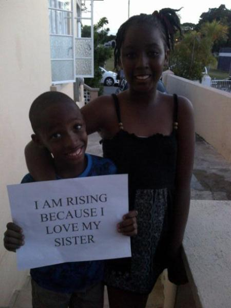 Source: One Billion Rising Barbados' Page