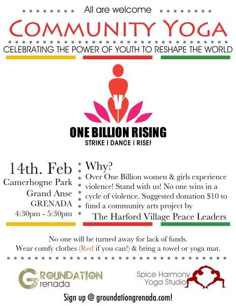 One Billion Rising Groundation Grenada