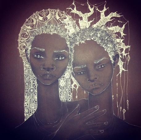 Madonna+Kin by Brianna McCarthy (Trinidad)