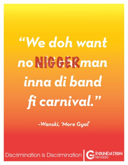Groundation Anti-Discrimination Campaign - More Gyal by Wanksi