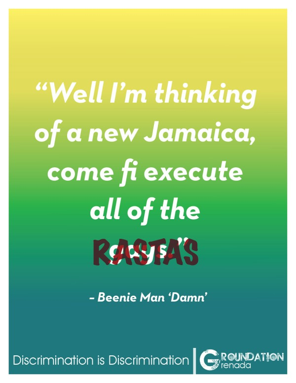 Groundation Anti-Discrimination Campaign - Damn by Beenie Man