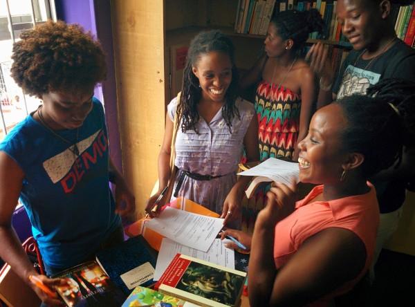 Mt Zion volunteer Librarian Grenada